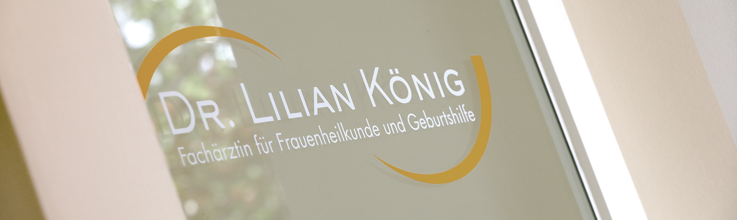 CONTACT – Consultation hours, address and telephone number of the practice for gynaecology Dr. Lilian König